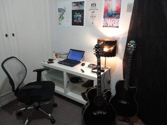 estúdio caseiro